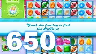Candy Crush Jelly Saga Level 650 (3 star, No boosters)