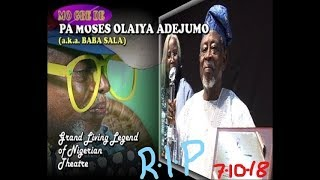 Download Video Late Pa Moses Olaiya Adejumo (a.k.a. Baba Sala) MP3 3GP MP4