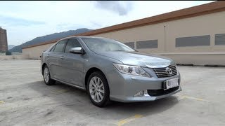 2012 Toyota Camry 2.5 V (XV50) Start-Up and Full Vehicle Tour