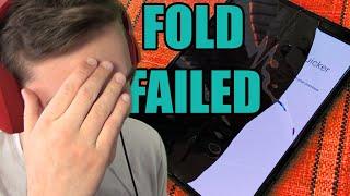 Ohebný telefon se ZNIČIL hned první den! Galaxy Fold má problém.