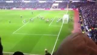 Bradford City V Aston Villa - GOAL!!!!! James Hanson - View from Doug Ellis Stand