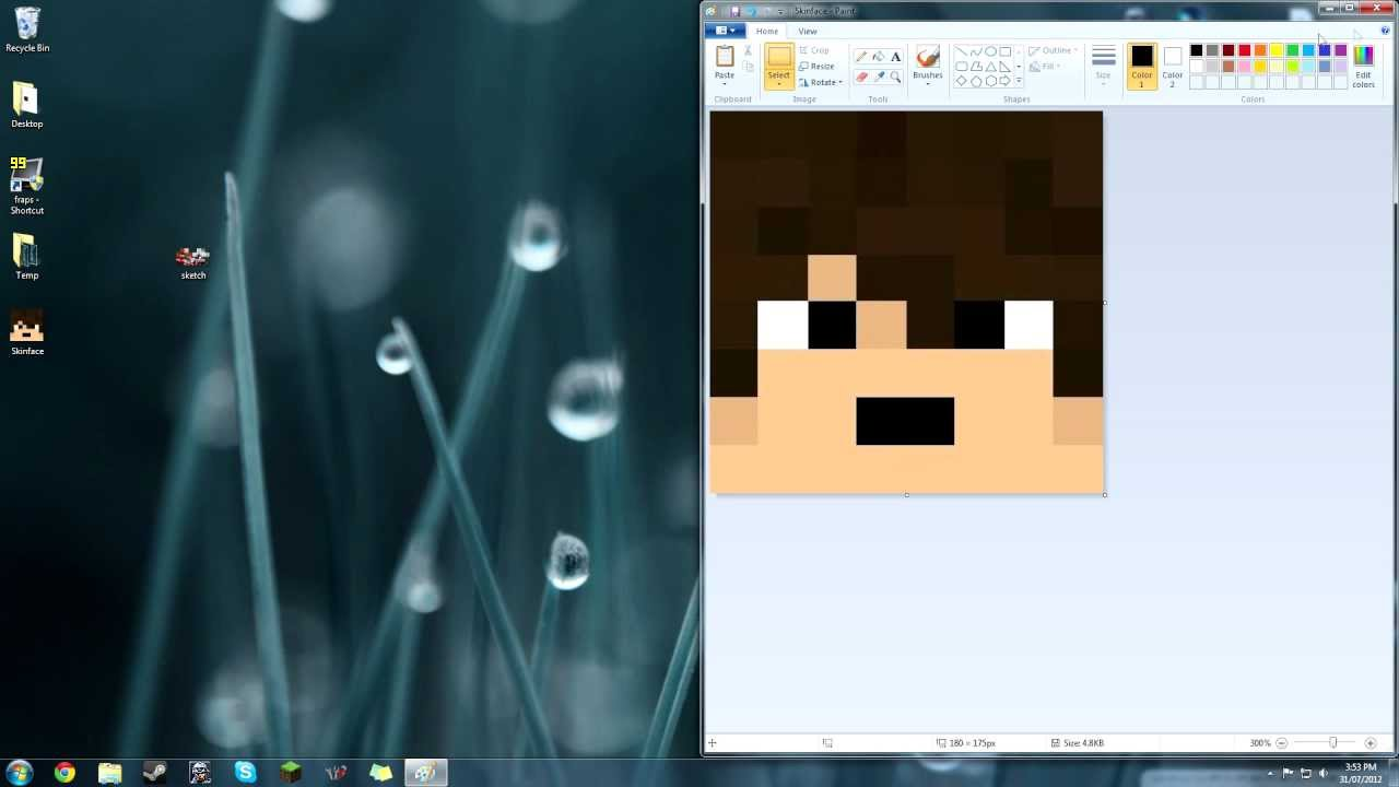 [Tutorial] How to turn a Minecraft skin face into a forum ...