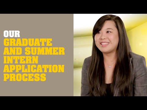 Our Graduate and Summer Intern Application Process