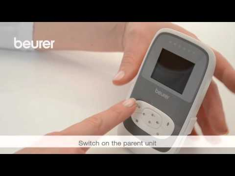 dfcaa5b118a Quick Start Video for the BY 77 Video Baby Monitor from Beurer - YouTube