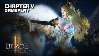 Blade II - Chapter 5 Gameplay (Eng Dub) - Android on PC - Mobile - F2P - KR