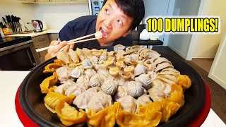 Trying EVERY DUMPLING on Ding Tai Fung Menu (100 DUMPLINGS) 鼎泰丰 & SCARY STORY TIME