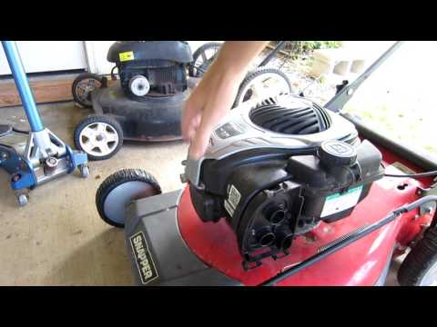 Briggs and Stratton 550EX Carburetor Repair Part 1