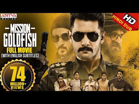 Mission GoldFish New Released Hindi Dubbed Movie 2020   Aadi, Sasha Chettri, Nitya Na