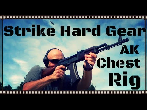 Strike Hard Gear AK-47 / AK-74 Chest Rig Review (HD)
