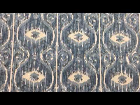 Bali Yacht fabric ikat Magnolia Home Fashions