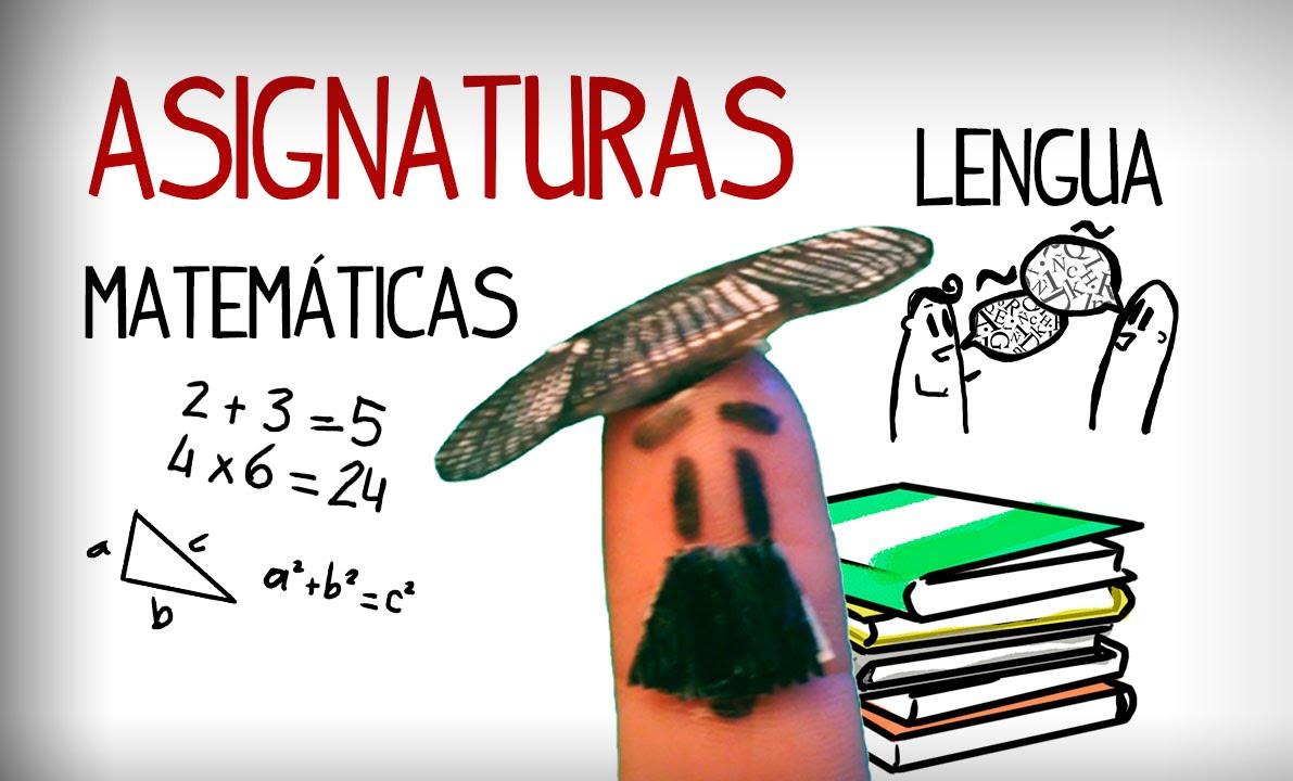 Bien connu Les matières scolaires en espagnol - YouTube ME86