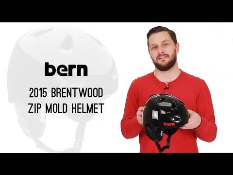 Bern 2015 Brentwood Zip Mold Helmet