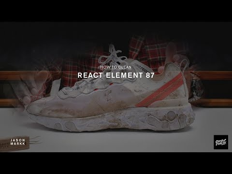 SNEAKER CARE 101: HOW-TO CLEAN NIKE EPIC REACT 87