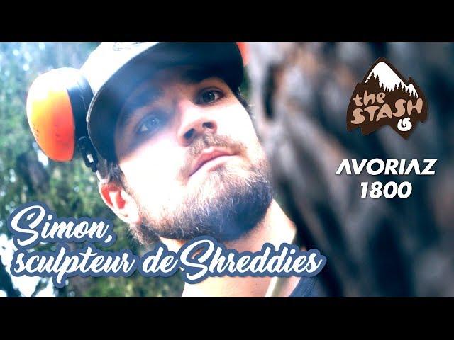 Avoriaz Snow Zone : Simon, le sculpteur de Shreddies sur le Stash...