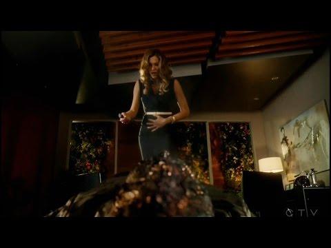 Lucifer 2x17 Charlotte  Got Stabbed Season 2 Episode 17