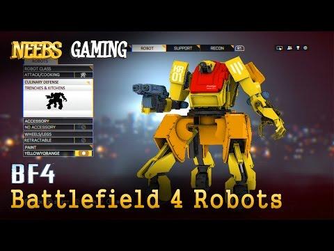 Battlefield 4  Robots?