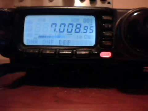 A Little DX on 40 meters