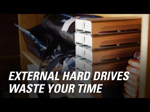 5 Ways External Hard Drives Waste Time in Editing