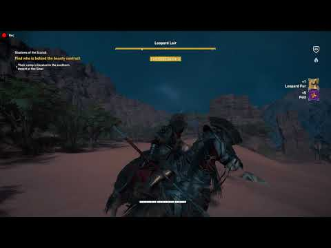 Assassin's Creed Origins find who is behind the bounty contract