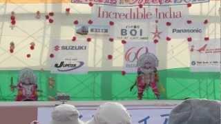 ビハール州仮面舞踊 プルリア・チョウ インディアメーラー2012
