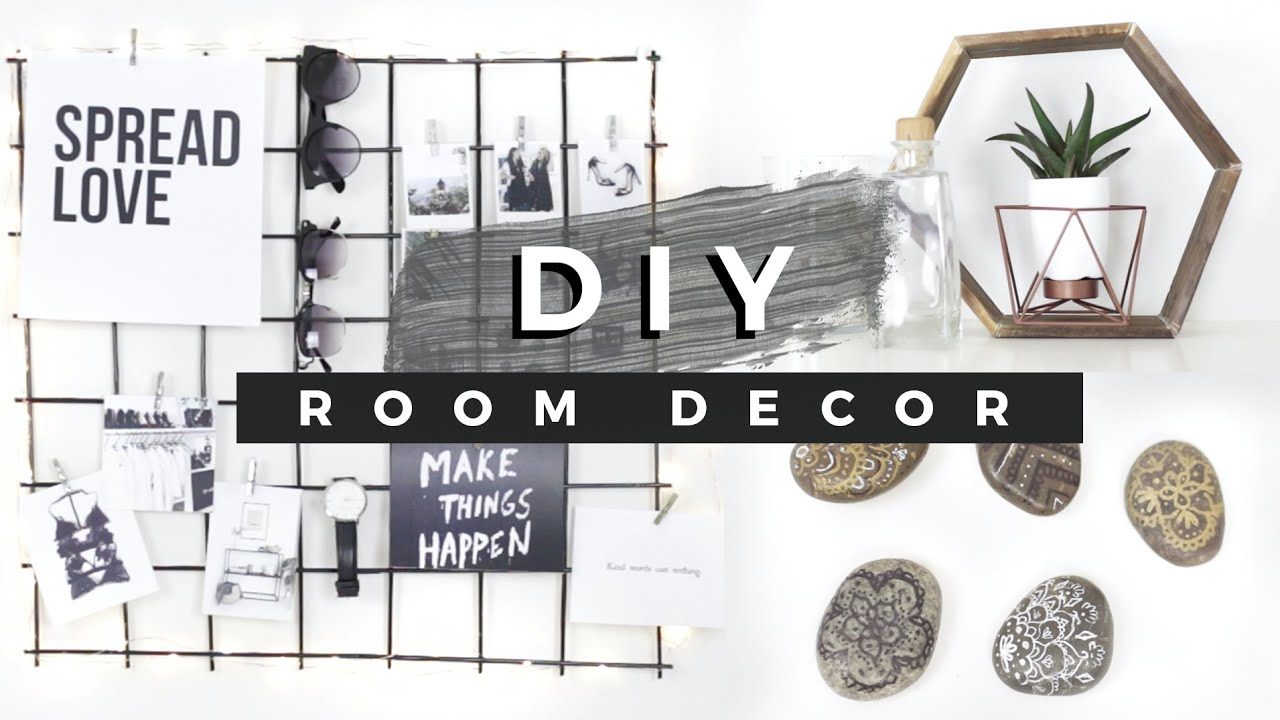 diy room decor tumblr inspired dollar store diys youtube