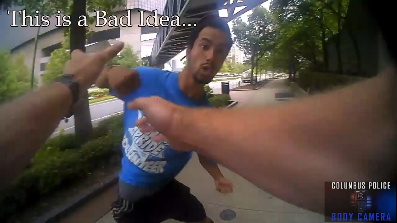 Download Watch how this officer responds to being punched in the face.