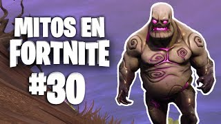 ¡Monstruos Congelados! - Mitos Fortnite - Episodio 30 #MitosFortnite
