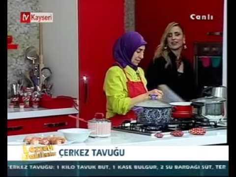 Lezzetli Dakikalar-Orman Cafe-Çerkez Tavuğu