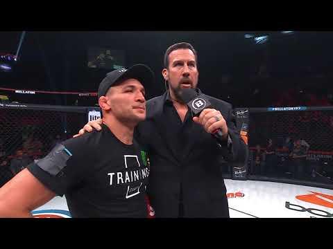 Bellator 197: Michael Chandler - Post-fight interview with Big John McCarthy