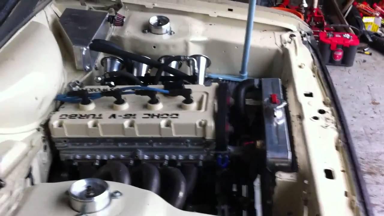 MK2 Escort 4 door with N/A Cosworth engine