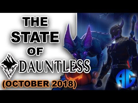 What's New In Dauntless??? (October 2018)