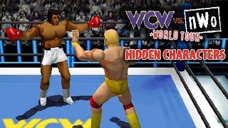 wcw vs nwo world tour hidden characters
