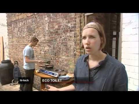 Il wc ecologico che produce biogas