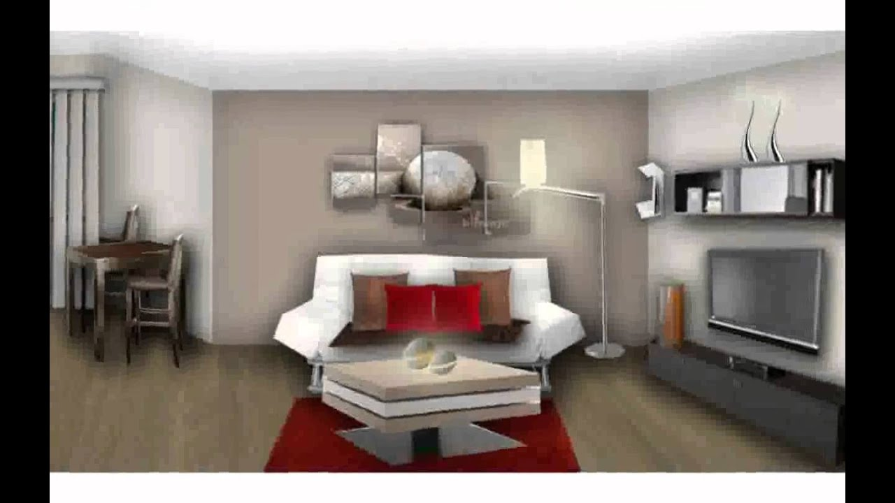 decoration salon moderne youtube. Black Bedroom Furniture Sets. Home Design Ideas