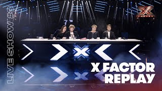 X Factor Replay: Live Show #3