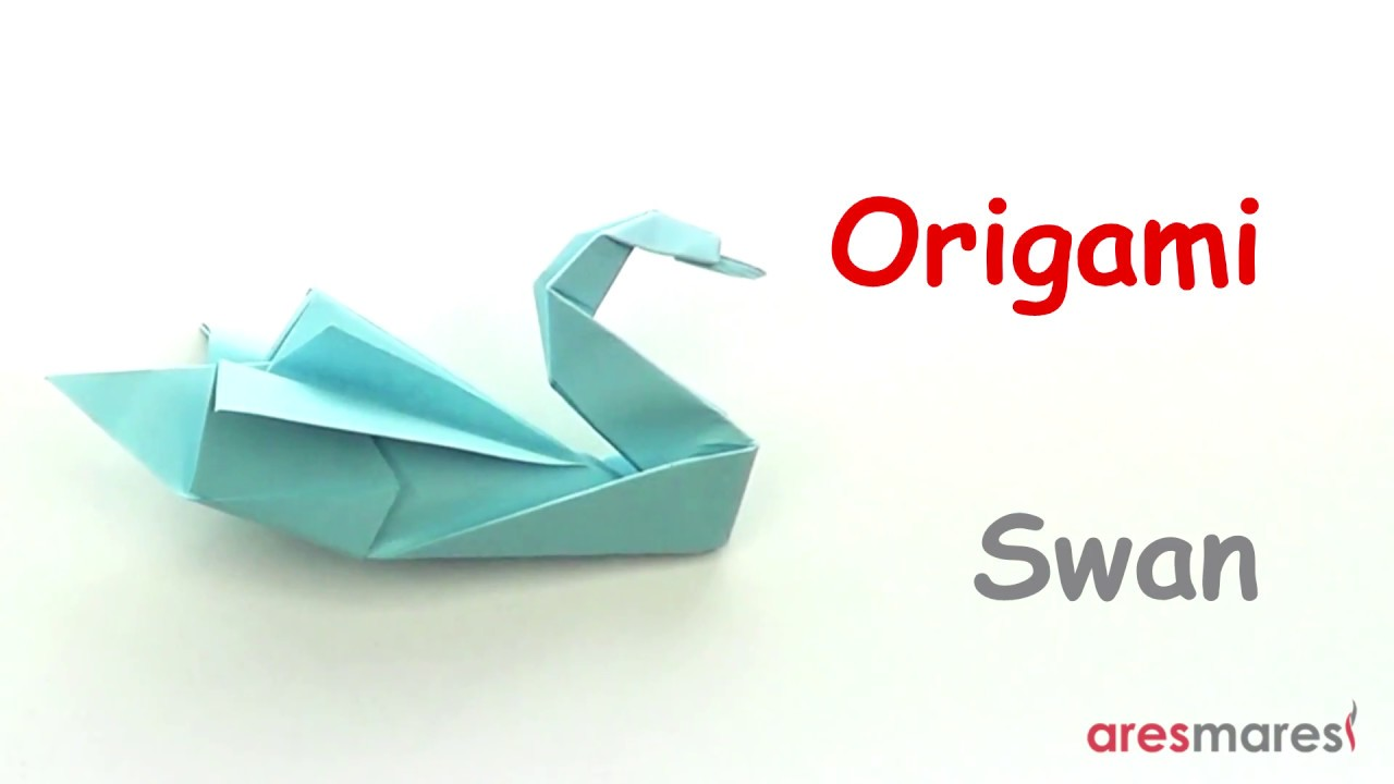 Diy Paper Crafts How To Make An Origami Swan Box Easy Tutorial 3d Diagram Http Howtoorigamicom Origamiswanhtml
