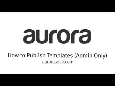 how to publish templates administrators only youtube