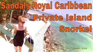 Sandals Royal Caribbean Montego Bay, Jamaica 2015 Private Island Tour & Snorkeling