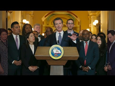 Governor Gavin Newsom halts California death penalty executions