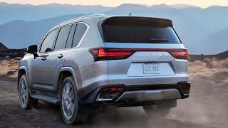 2022 Lexus LX, (lx600) Reveal! Is the new lx 600 the Ultimate luxury family SUV? lexus lx600 2022!