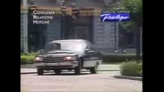 1993 Cadillac Fleetwood Brougham Promo Movie Commercial