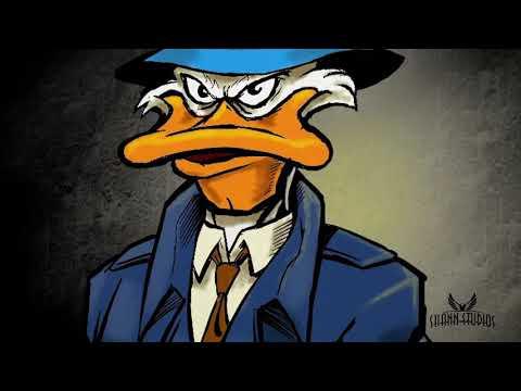 Drawing: Drake Mallard. Private Duck