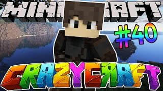 Minecraft: YouTuber Survival #40 The End!! (Minecraft Crazy Craft 3.0 SMP)