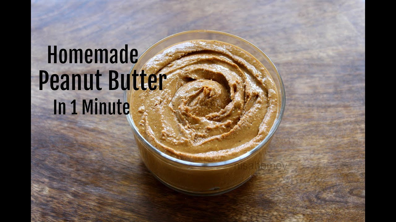 Remove Oil From Natural Peanut Butter