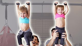 HILARIOUS FAMILY WORKOUT CHALLENGE!