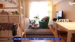 NYLON editor NAOMIの部屋がイケアの家具で大変身!