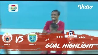 Persija (4) Vs Persela (3)   Goal Highlight | Shopee Liga 1