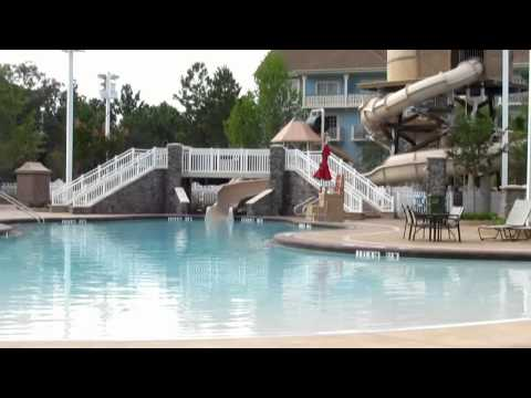 Disney's Saratoga Springs Paddock Pool Now Open 7/11/11 DVC Walt Disney World