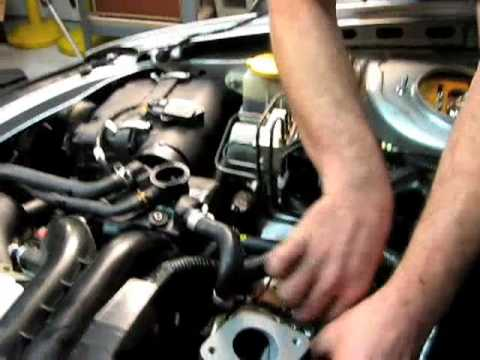 How to swap a Subaru turbo - YouTube
