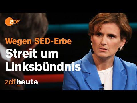 Debatte um mögliches Bündnis von Rot-Rot-Grün   Markus Lanz vom 08. September 2021